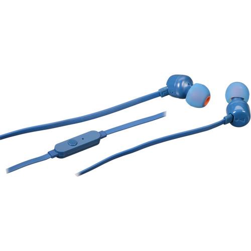 JBL T110 In-Ear Headphones (Blue)