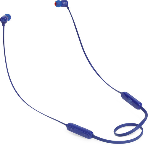 JBL Tune 110BT In-Ear Wireless Headphone With 3-Button Remote/ Mic (Blue)