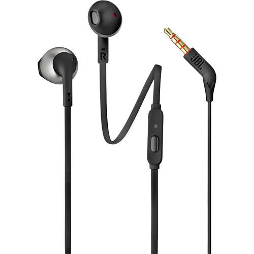 JBL T205 Earbud Headphones (Black)