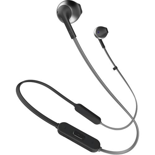 JBL TUNE 205BT Wireless Bluetooth Earbud Headphones (Black)