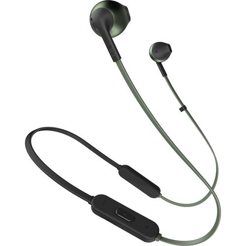 JBL TUNE 205BT Wireless Bluetooth Earbud Headphones (Green)