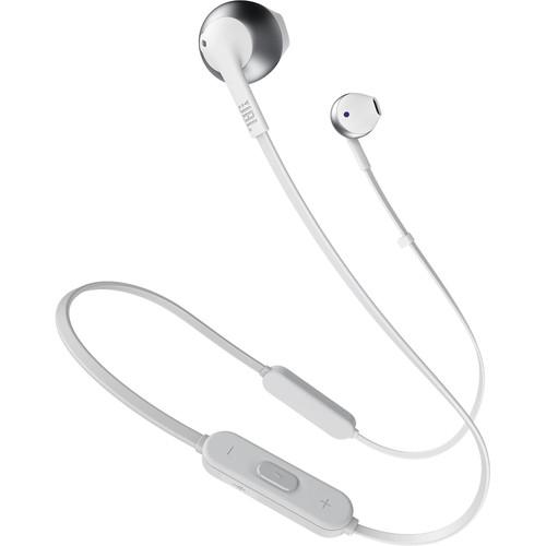 JBL TUNE 205BT Wireless Bluetooth Earbud Headphones (Silver)