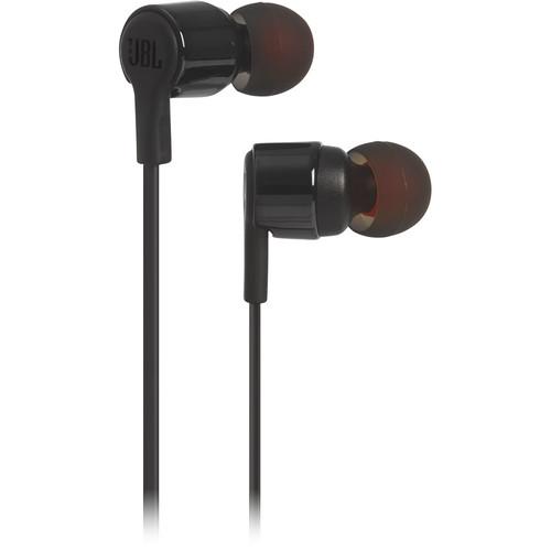 JBL T210 In-Ear Headphones (Black)
