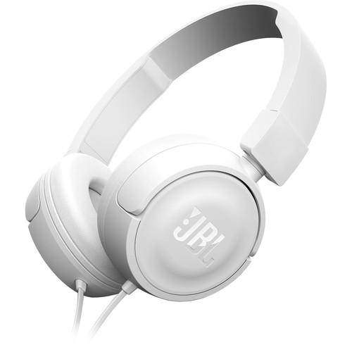 JBL T450 On-Ear Headphones (White)