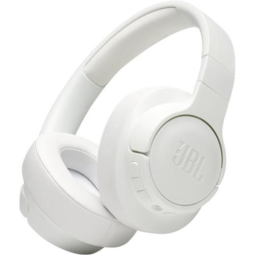 JBL TUNE 750BTNC Noise-Canceling Wireless Over-Ear Headphones (White)