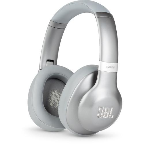 JBL Everest 710 Over-Ear Wireless Headphones (Silver)