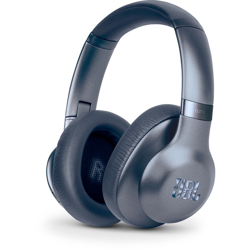 JBL Everest Elite 750NC Over-Ear Wireless Headphones (Blue)