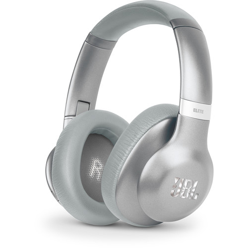 JBL Everest Elite 750NC Over-Ear Wireless Headphones (Silver)