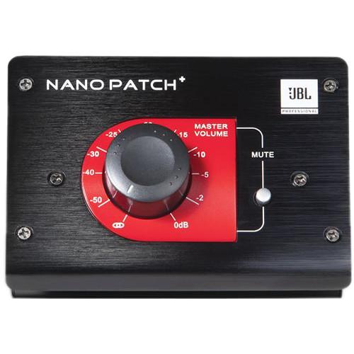 JBL Nano Patch+ Compact 2-Channel Passive Volume Controller