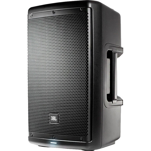 "JBL Dual EON610 10"" Powered Speakers with Speaker Stands & Accessories"