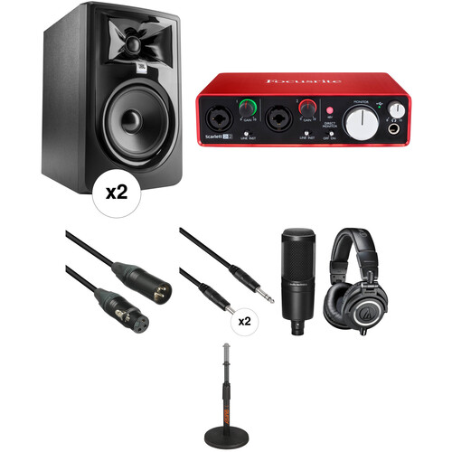 JBL Professional Recording and Complete Bundle Kit