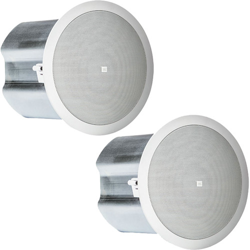 "JBL Control 16C/T 2-Way 6.5"" Coaxial Ceiling Loudspeakers (Pair, White)"