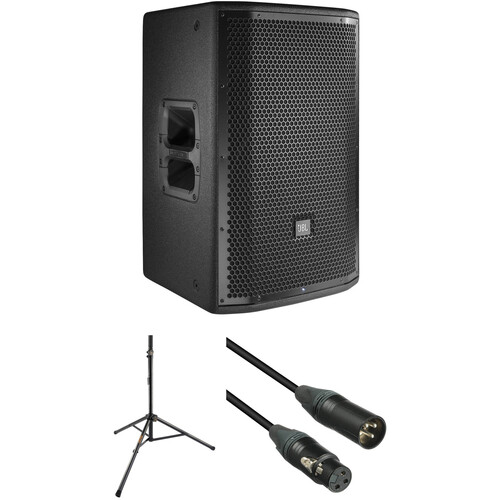 "JBL PRX812W 12"" Loudspeaker with Stand and Cable Kit"