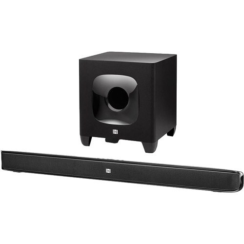 JBL Cinema SB 400 Soundbar and Wireless Subwoofer System