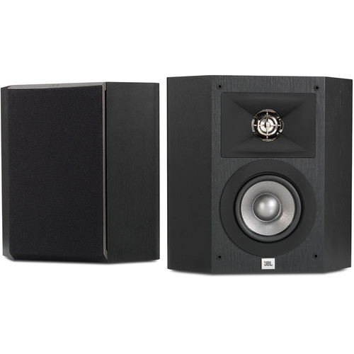 JBL Studio 210 Surround Speakers (Black, Pair)