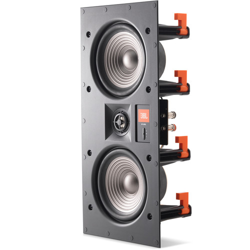 """JBL Studio 2 55IW 5.25"""" Two-Way Dual-Woofer In-Wall Speaker"""