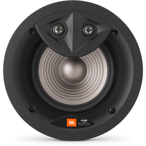 "JBL Studio 2 6ICDT 6.5"" Two-Way Dual-Tweeter In-Ceiling Speaker"