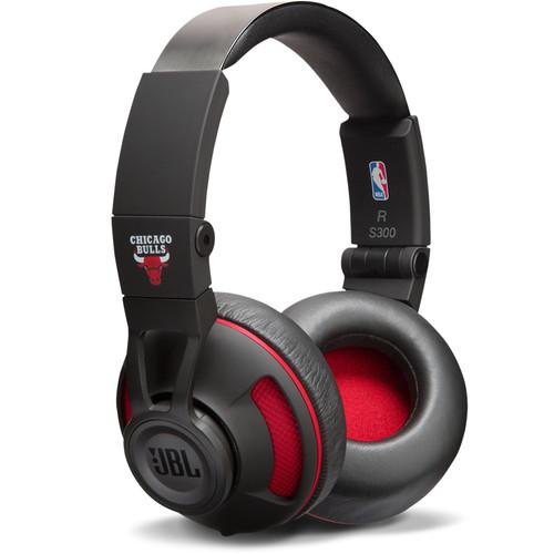 JBL Synchros S300 NBA Edition On-Ear Headphones (Chicago Bulls)