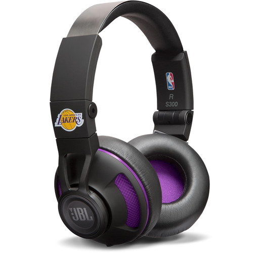 JBL Synchros S300 NBA Edition On-Ear Headphones (LA Lakers)