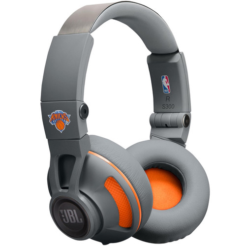 JBL Synchros S300 NBA Edition On-Ear Headphones (NY Knicks)