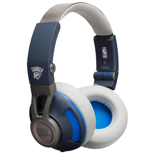 JBL Synchros S300 NBA Edition On-Ear Headphones (OKC Thunder)