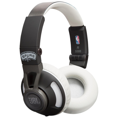 JBL Synchros S300 NBA Edition On-Ear Headphones (San Antonio Spurs)