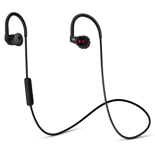 JBL Under Armour Wireless In-Ear Headphones with Heart-Rate Monitor (Black)
