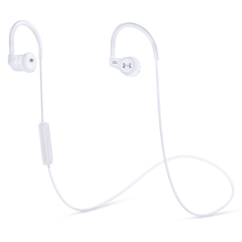 JBL Under Armour Wireless In-Ear Headphones with Heart-Rate Monitor (White)