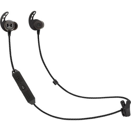 JBL Under Armour Sport Wireless React Bluetooth In-Ear Headphones (Black)