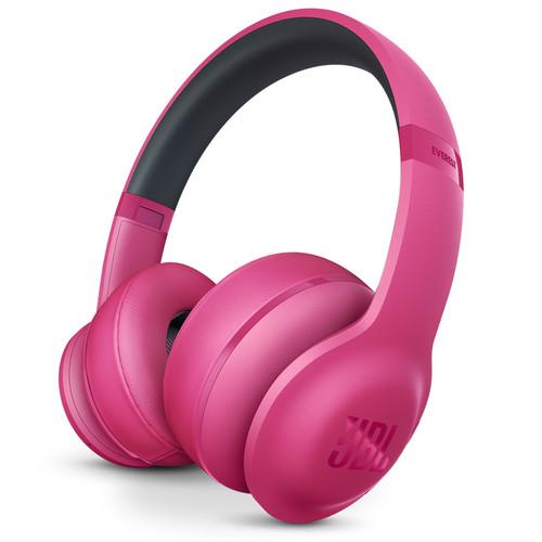 JBL Everest 300 On-Ear Wireless Headphones (Pink)