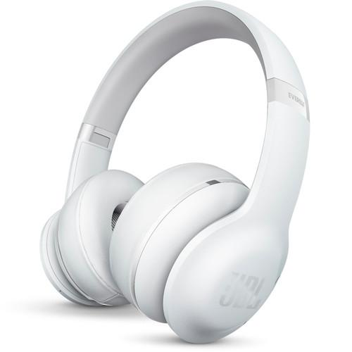 JBL Everest 300 On-Ear Wireless Headphones (White)