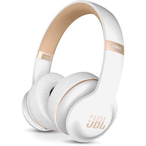 JBL Everest Elite 300 On-Ear Wireless Headphones (White)