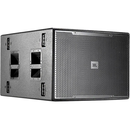 """JBL VPSB7118DPDA Powered 18"""" Subwoofer System with DrivePack DPDA Input Module (Black)"""