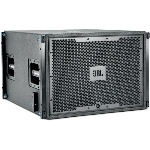 """JBL VT4883 Subcompact Dual 12"""" Cardioid-Arrayable Passive Subwoofer (Black)"""