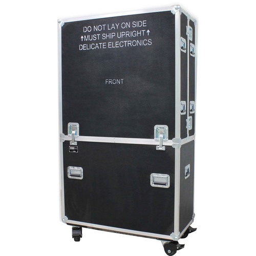 JELCO RotoLift Dual Flat Screen Mobile Lift Case