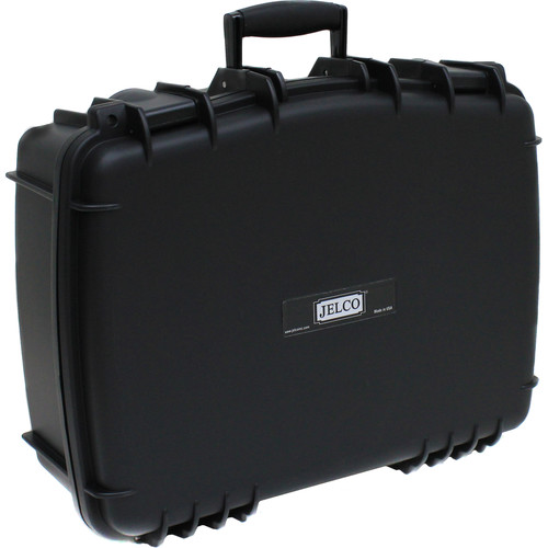 JELCO Rugged Carry Case with DIY Customizable Foam (Black)