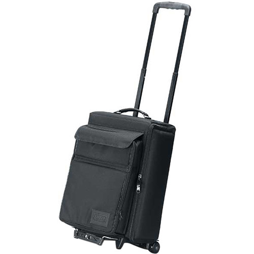 JELCO Padded Hard Side Wheel Case for Projector with TSA Check-Point Friendly Removable Laptop Case