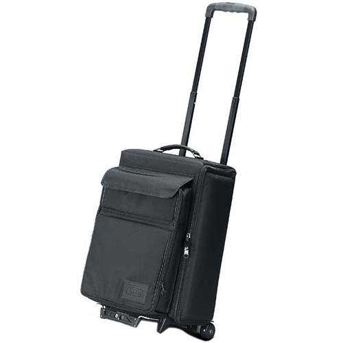 JELCO JEL1667RP Padded Hard Side Wheeled Projector Case with Removable Laptop Case