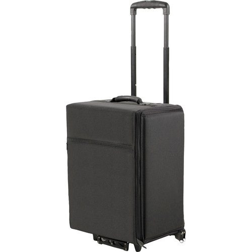 """JELCO Wheeled Travel Case for 5 Laptops (15 to 16"""" Screens)"""