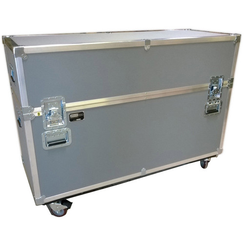 """JELCO ATA Shipping Case for Two 55"""" Displays (Gray)"""