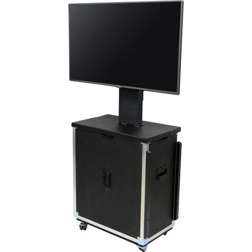 """JELCO RotoLift Lite Flight Case for 46-49"""" Flat Screen Displays"""