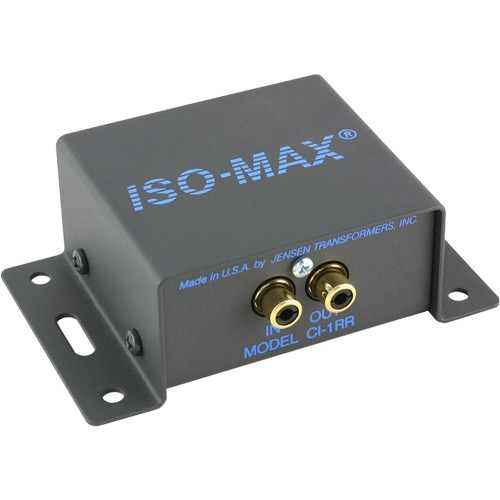 Jensen Transformers Iso-Max CI-1RR - Single-Channel Ground Isolator (RCA In/Out)