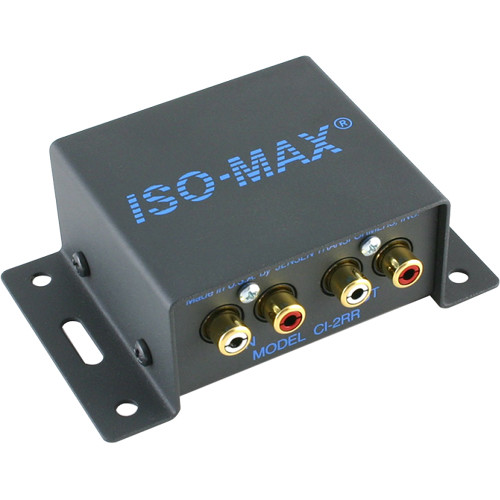 Jensen Transformers Iso-Max CI-2RR - 2-Channel Ground Isolator (RCA In/Out)