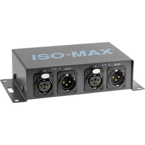 Jensen Transformers Iso-Max MS-2XX - 2-Channel Mic Splitter