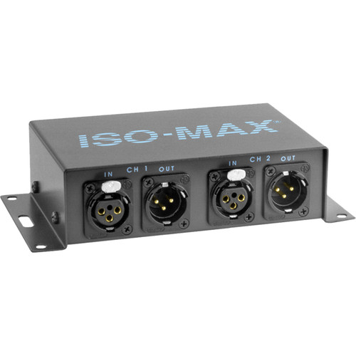 Jensen Transformers Iso-Max PI-2XX - 2-Channel Line-Input Isolator (XLR In/Out)