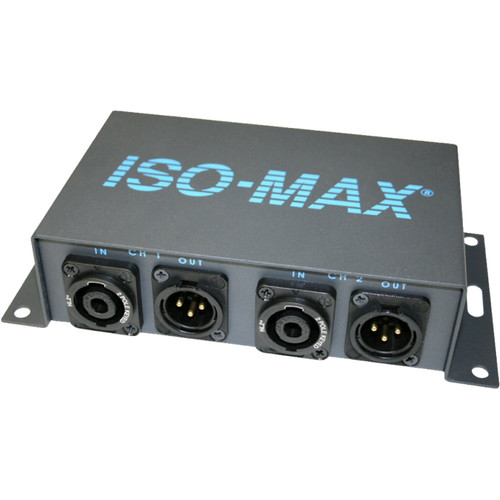 Jensen Transformers SP-2SX - 2-Channel Speaker to Line Level Converter (Speakon In / XLR Out)