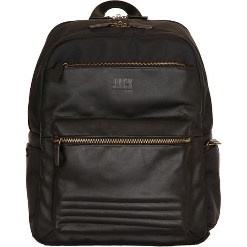Jill-E Designs JACK Smart Laptop Backpack (Black)