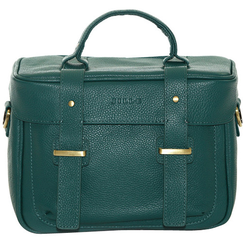 Jill-E Designs Juliette Leather Camera Bag (Teal)