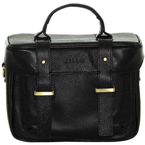 Jill-E Designs Juliette Leather Camera Bag (Black)