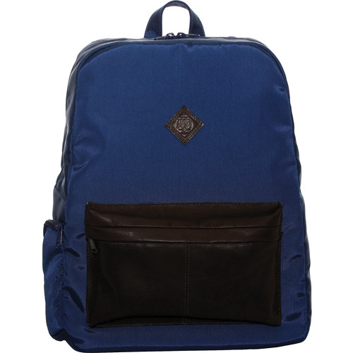 "Jill-E Designs JUST Dupont 15"" Laptop Backpack (Blue)"